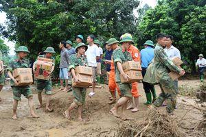 Quân khu 2: Tiếp cận và cứu hộ người dân xã Sùng Đô bị cô lập bởi nước lũ