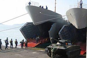 Hải quân Việt Nam có thêm lữ đoàn tàu đổ bộ