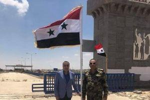 Cờ Syria đã bay trên giao điểm chiến lược Nassib
