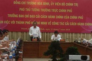 TP HCM cần đẩy mạnh cải cách hành chính gắn với sắp xếp bộ máy tinh gọn