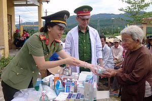 'Ngày xanh tình nguyện' về với vùng quê cách mạng Thượng Đức