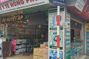 Phát hiện nhiều cơ sở kinh doanh trang thiết bị y tế ở Hà Nội vi phạm