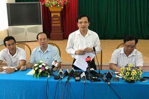 Sơn La: Phát hiện hàng loạt sai phạm, 12 thí sinh bị giảm điểm thi