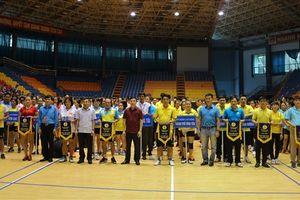 LĐLĐ tỉnh Vĩnh Phúc: 15 đội dự Giải Thể thao CNVCLĐ tỉnh Vĩnh Phúc năm 2018