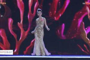 Những màn catwalk 'kì lạ' của dàn thí sinh Hoa hậu Việt Nam 2018 tại đêm chung khảo phía Bắc