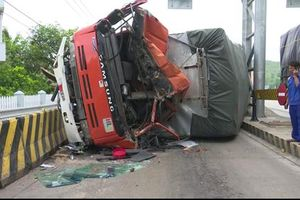 Tai nạn tại trạm thu phí