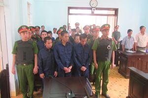 10 bị cáo gây rối trật tự ở Phan Rí Cửa nhận án tù