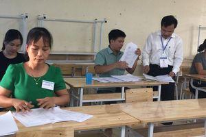 Công bố kết quả chấm thẩm định điểm thi THPT Quốc gia tại Hòa Bình
