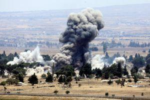 Nga dồn dập không kích IS tại Syria: Áp sát biên giới Jordan, Israel