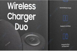 'Lộ diện' ảnh leak đầu tiên về dock sạc đôi cho Note 9 và Galaxy Watch