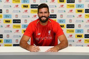 Liverpool từ chối mua Alisson với giá 4 triệu bảng năm 2015