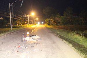 Truy tìm tài xế xe tải tông chết chiến sĩ xuất ngũ