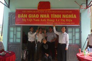 VNPT tại Quảng Nam trao nhà tình nghĩa cho Mẹ Việt Nam Anh hùng Lê Thị Hiệu
