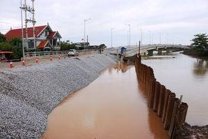Hải Phòng: Dự án cầu Đăng lộ sai phạm động trời sau trận mưa