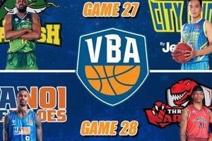VBA 2018 lượt trận ngày 24/07: Suất playoffs đầu tiên 'vẫy gọi' Cantho Catfish