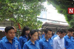 Trung ương Hội Luật gia Việt Nam tri ân các anh hùng liệt sĩ