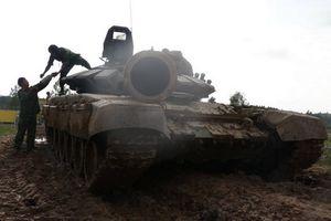 Đội tuyển Việt Nam nhận T-72B3, tích cực luyện tập chuẩn bị thi đấu Tank Biathlon 2018