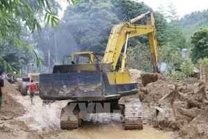 Đã thông đường lên xã Sùng Đô, huyện Văn Chấn, Yên Bái
