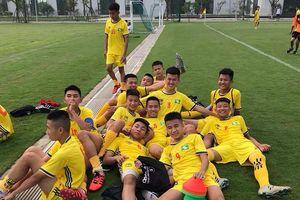U15 Sông Lam Nghệ An giành vé dự vòng chung kết trước 1 vòng đấu