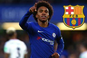 Chelsea ra giá bán Willian cho Barca