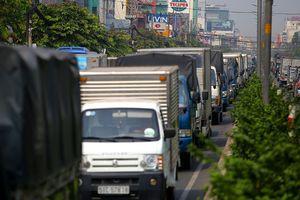 TP.HCM thay đổi khung giờ cấm xe tải vào nội đô