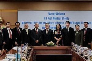 Thúc đẩy hợp tác giáo dục - đào tạo giữa Việt Nam và các nước Đông Nam Á