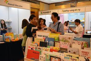 Khai mạc 'Hội sách bản quyền Hàn Quốc tại thành phố Hồ Chí Minh'