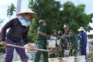 Giúp địa phương 'về đích' trong xây dựng nông thôn mới