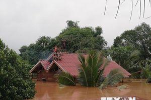 Lào thông báo huyện Sanamxay là vùng thiên tai khẩn cấp