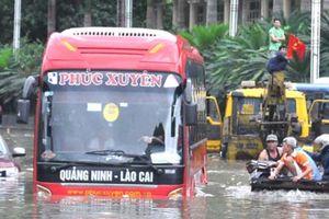 Quảng Ninh: Xử lý dứt điểm 'hồ nước' trên Quốc lộ