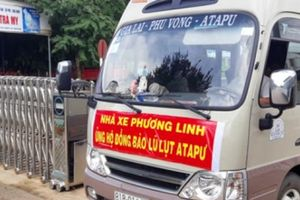 Nhiều người Việt Nam từ vùng vỡ đập thủy điện ở Lào bắt đầu về nước