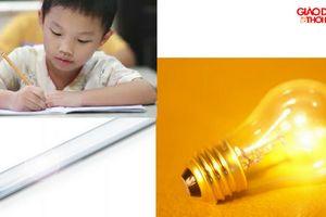 Các cách đơn giản chống cận thị cho trẻ em khi học tập