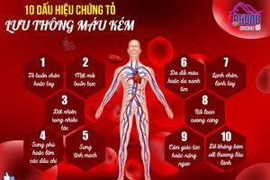 10 dấu hiệu cảnh báo tuần hoàn máu kém và lời khuyên để cải thiện lưu thông máu