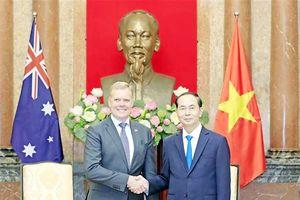 Chủ tịch nước, Thủ tướng tiếp Chủ tịch Hạ viện Australia Tony Smith