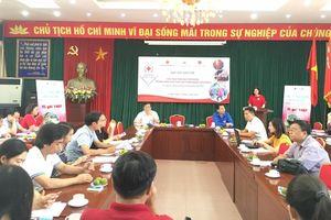 Hơn 500 đại biểu dự Hội trại tình nguyện viên, thanh niên Chữ thập đỏ