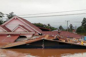Vỡ đập thủy điện ở Lào: Mực nước ở đồng bằng sông Cửu Long dâng cao gần 10cm