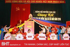 Can Lộc, Thạch Hà, TP Hà Tĩnh tổ chức hội thi cán bộ kiểm tra cơ sở giỏi