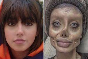 Angelina Jolie phiên bản lỗi hé lộ cách tạo gương mặt khiến nhiều người thất kinh