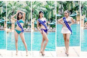 Thí sinh Hoa hậu Đại sứ Hoàn vũ người Việt 2018 khoe dáng bikini ở Thái Lan