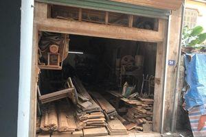 Người dân khốn khổ vì xưởng gỗ trái phép nằm trong khu dân cư