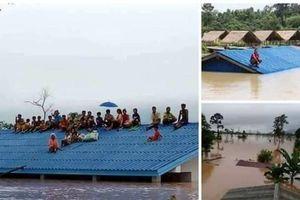 Đã có hơn 2.800 người được cứu sống sau vụ vỡ đập thủy điện ở Lào