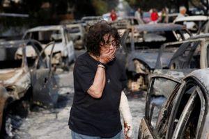 Hy Lạp đối mặt thảm họa cháy rừng chưa từng có trong vòng một thập kỷ