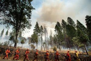 Mỹ đóng cửa Công viên quốc gia Yosemite vì cháy rừng