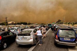 Cháy rừng lịch sử ở Hy Lạp, hơn 50 người thiệt mạng