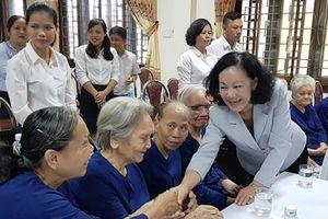 Trưởng ban Dân vận T.Ư thăm Trung tâm Điều dưỡng, chăm sóc người có công TT-Huế