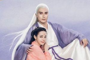 Địch Lệ Nhiệt Ba xinh đẹp, e ấp bên Cao Vỹ Quang trong 'Tam sinh tam thế: Chẩm thượng thư'