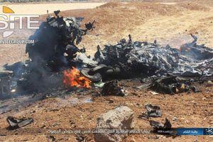 Tổ chức khủng bố IS công bố ảnh, video xác chiến cơ Syria bị Israel bắn hạ