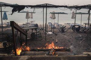 Thảm họa cháy rừng ở Hy Lạp: Con số thương vong vẫn tiếp tục tăng