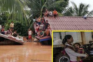 Nhân chứng run rẩy kể lại phút kinh hoàng chống chọi với dòng nước cuồn cuộn do vỡ đập thủy điện ở Lào