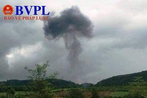 Nghệ An: Máy bay quân sự Su 22 rơi, 2 phi công hy sinh